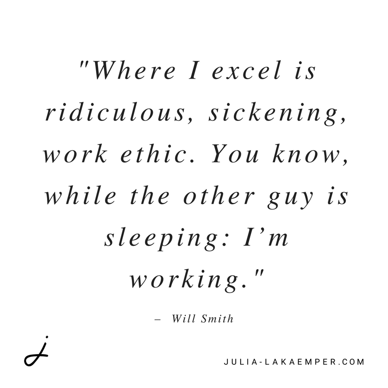 Will Smith - Work Ethic