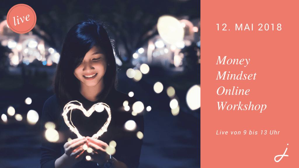 Money Mindset Online Workshop Banner