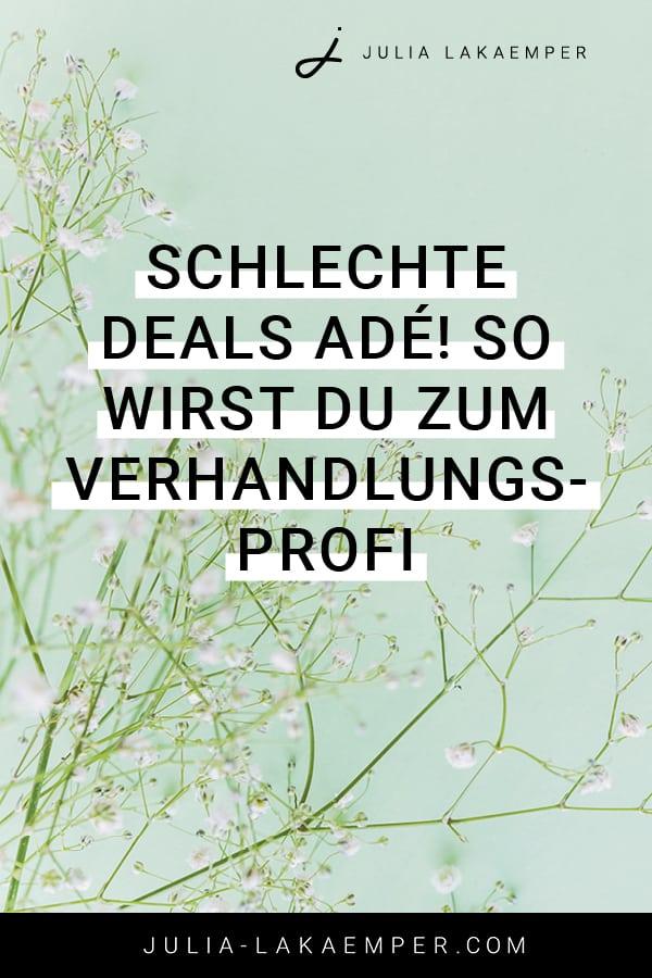 Schlechte Deals ade! So wirst du zum Verhandlungsprofi